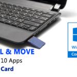 Cómo instalar y mover aplicaciones de Windows 10 a una tarjeta SD