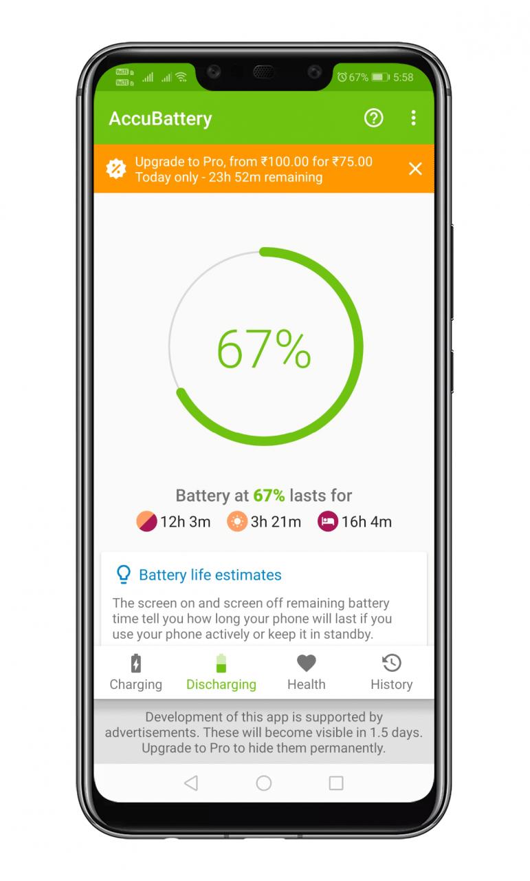 Cómo comprobar la salud de la batería del dispositivo Android en 2020
