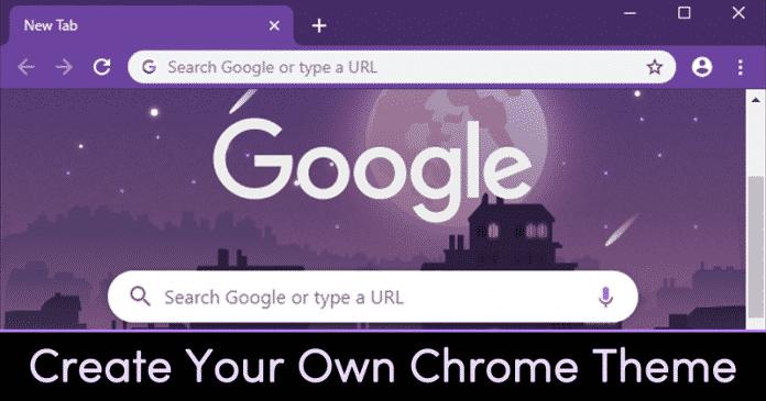 Cómo crear rápidamente tu propio tema de navegador cromado