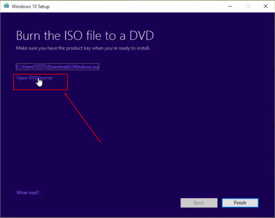 Cómo crear un disco de instalación de Windows 10