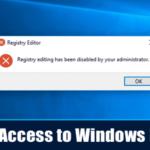Cómo deshabilitar el acceso al registro de Windows