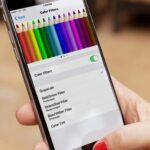 Cómo activar los filtros de color en el iPhone o iPad para Easy on the Eyes.