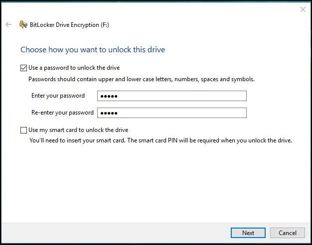 Cómo habilitar el cifrado de disco completo en Windows 10