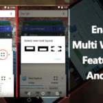 Cómo activar la función de ventanas múltiples en Android