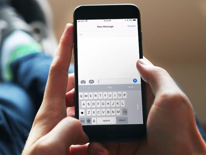 Cómo habilitar la escritura con una mano en el teclado de tu iOS 11