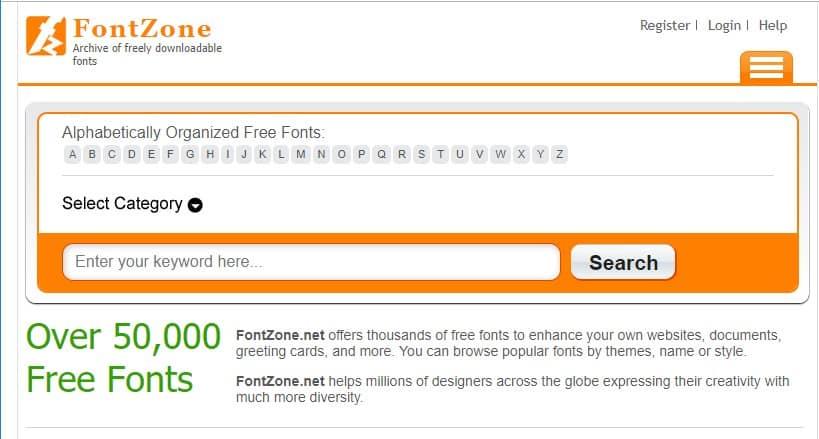Los 20 mejores sitios web de descarga de fuentes gratuitas en 2020