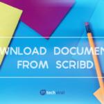 Cómo descargar documentos pagados de Scribd