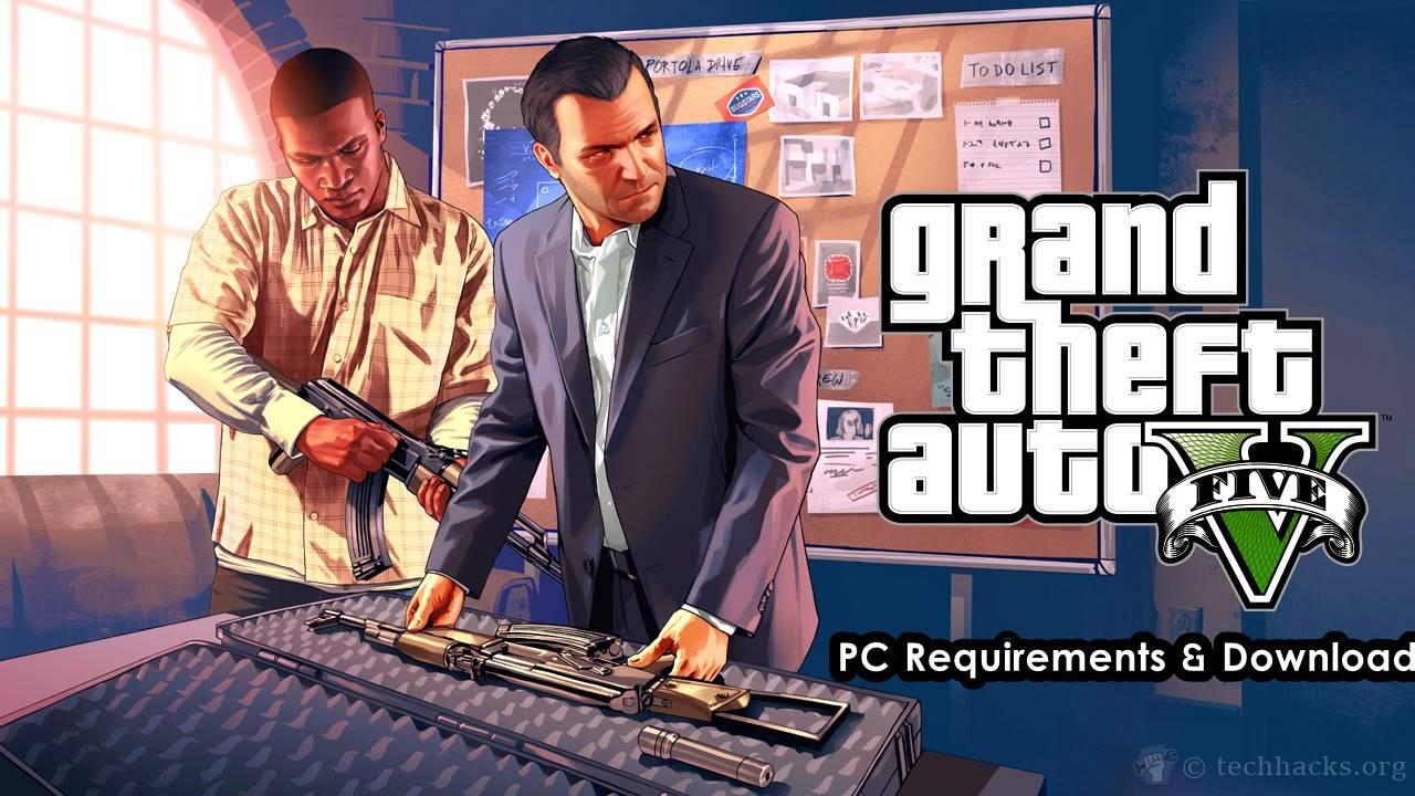 GTA 5 para PC Requisitos y descarga