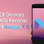 Aquí está la lista de dispositivos que recibirán turrón de Androids 7.0