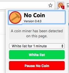 Cómo bloquear la minería de criptocorriente en su navegador web