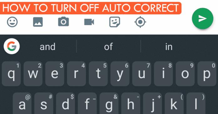 Cómo desactivar la autocorrección o el corrector ortográfico en Android