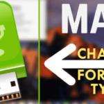 Cómo formatear cambiando el tipo de formato de una unidad USB en macOS