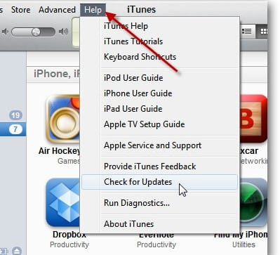 Cómo actualizar iTunes en tu Windows o MAC