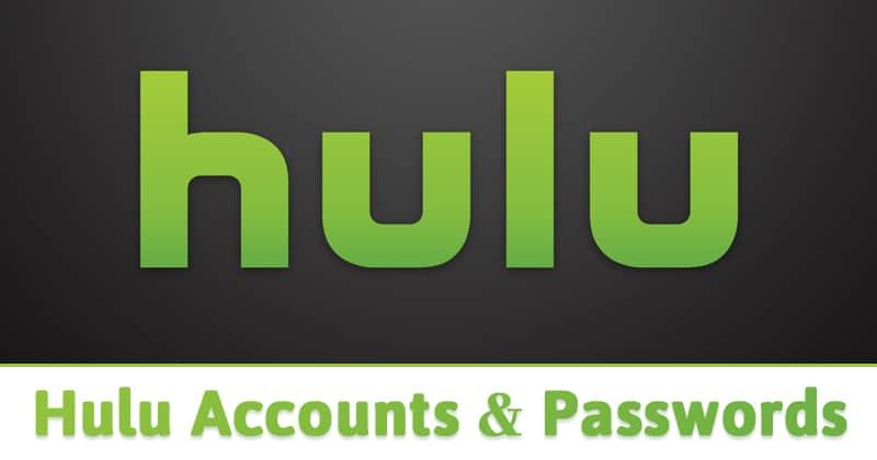 Nombre de usuario y contraseña de las cuentas de Hulu 2020 (100% funcionando)