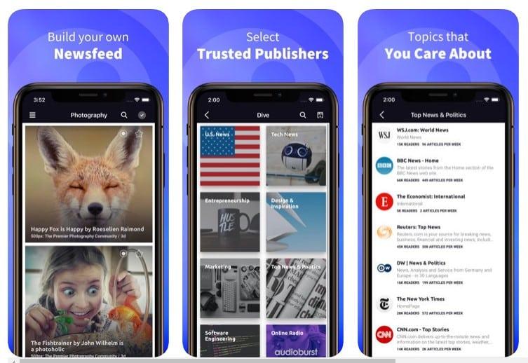 Las 10 mejores aplicaciones para el lector de noticias del iPhone en 2020
