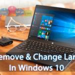 Cómo agregar, eliminar y cambiar el idioma en Windows 10
