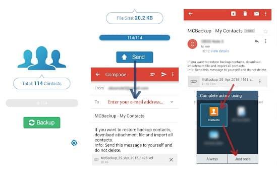 Las 5 mejores aplicaciones gratuitas de copia de seguridad de contactos para Android