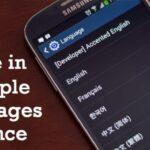Cómo escribir en varios idiomas a la vez en Android