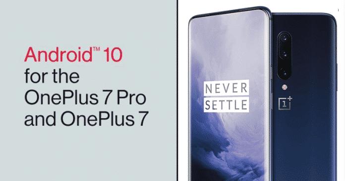 Cómo actualizar el OnePlus 7 & 7 Pro a Android 10 | OxygenOS