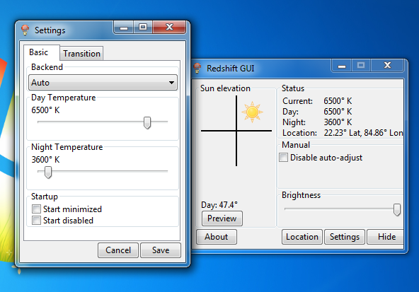Cómo ajustar el brillo de la computadora automáticamente basado en la hora del día