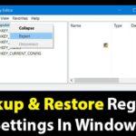 Cómo hacer una copia de seguridad y restaurar la configuración del registro en el PC de Windows