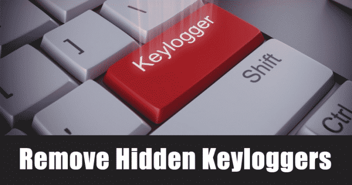 Cómo eliminar los registradores de teclas ocultos de tu PC