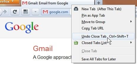 Cómo restaurar las pestañas cerradas en varios navegadores