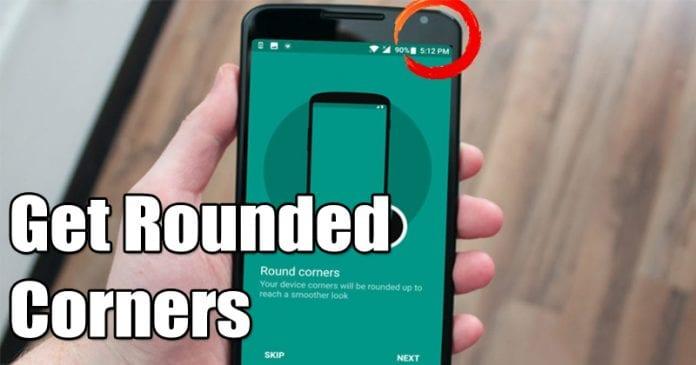 Cómo conseguir esquinas redondeadas en tu pantalla de Android