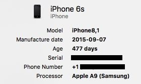 Cómo ejecutar el diagnóstico de la batería del iPhone en el MAC