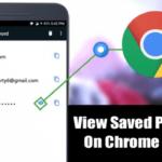 Cómo ver las contraseñas guardadas en Chrome para Android