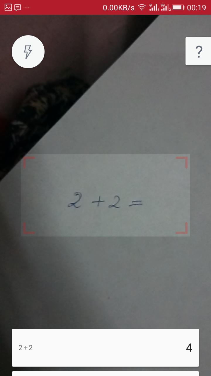 Cómo resolver problemas matemáticos usando la cámara del teléfono