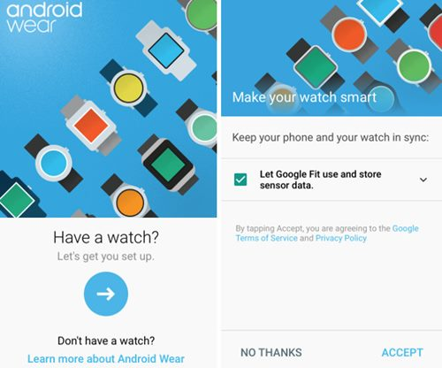 Cómo configurar y usar la ropa de Android con el iPhone
