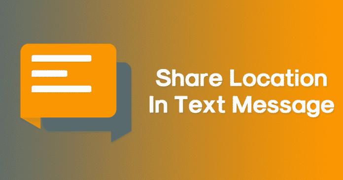 Cómo compartir rápidamente tu ubicación en un mensaje de texto en Android