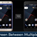 Cómo compartir la pantalla entre múltiples dispositivos Android
