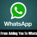 Cómo evitar que la gente le añada a los grupos de WhatsApp