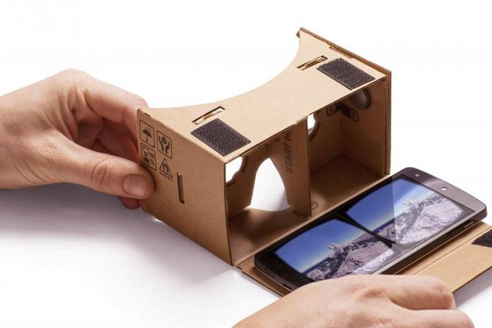 Cómo usar el cartón de Google en un teléfono Android sin sensor de giroscopio