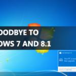 El fin de una era dice adiós a los nuevos PCs con Windows 7 y 8.1