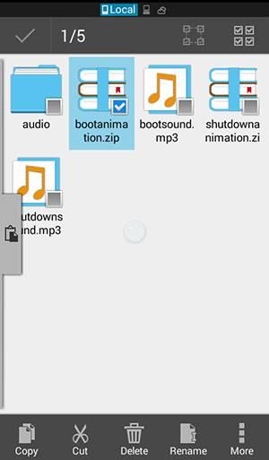 Cómo conseguir la animación de la bota de turrón para Androids en cualquier Android