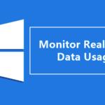 Cómo monitorear el uso de datos en tiempo real en Windows