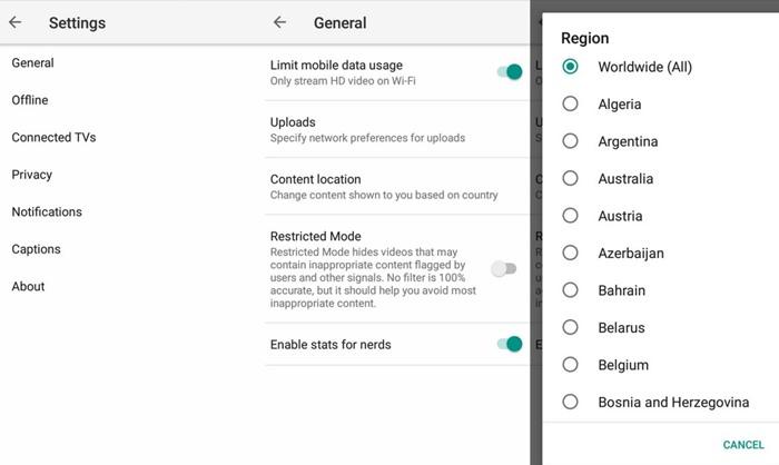 Los 10 mejores trucos y consejos para aplicaciones de Android en Youtube 2020