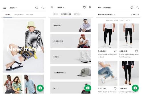 10 aplicaciones de Android para encontrar ropa por foto