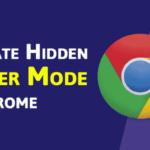Cómo activar el modo de lectura oculta en el navegador Chrome