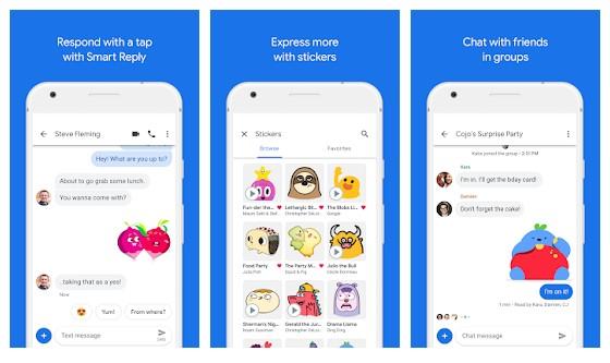15 mejores aplicaciones de mensajes de texto y SMS para Android