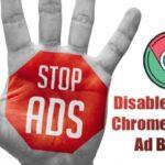 Cómo desactivar y activar el bloqueador de anuncios por defecto de Chrome