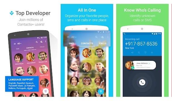 Las 10 mejores aplicaciones de gestión de contactos para Android 2020