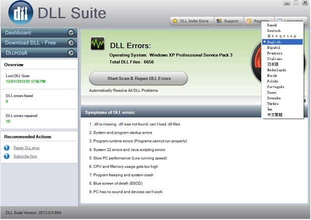 15 mejores programas fijadores de DLL para Windows (2020)