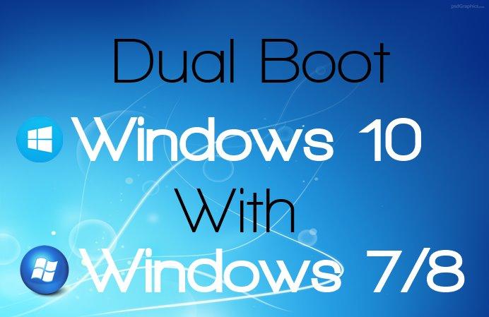 Cómo arrancar de forma dual Windows 10 con Windows 8