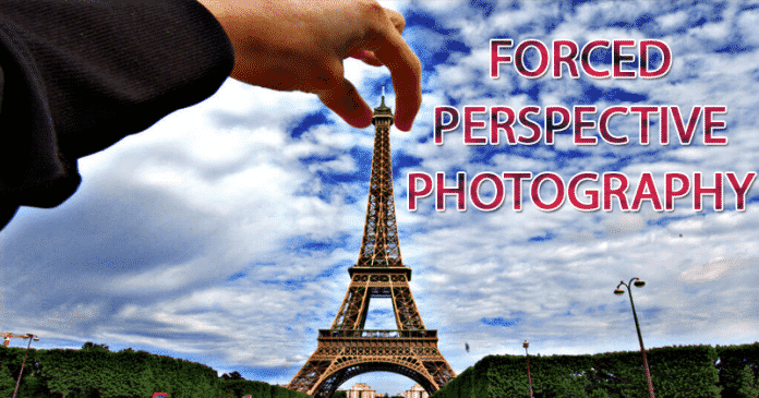 Cómo crear una fotografía de perspectiva forzada con la cámara de un Smartphone