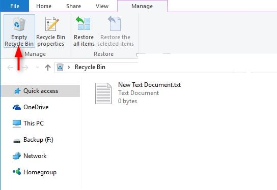 Cómo borrar u ocultar la papelera de reciclaje en Windows 7, 8 o 10