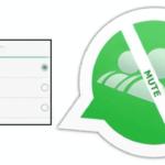 Cómo silenciar/inhabilitar grupos en WhatsApp